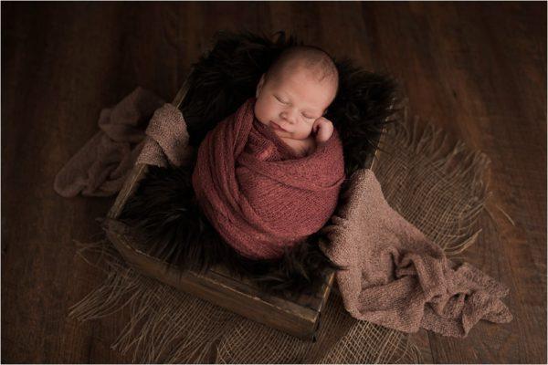 Elegante Neugeborenenfotos
